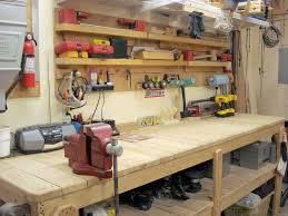 workbenches and work tables for workshop